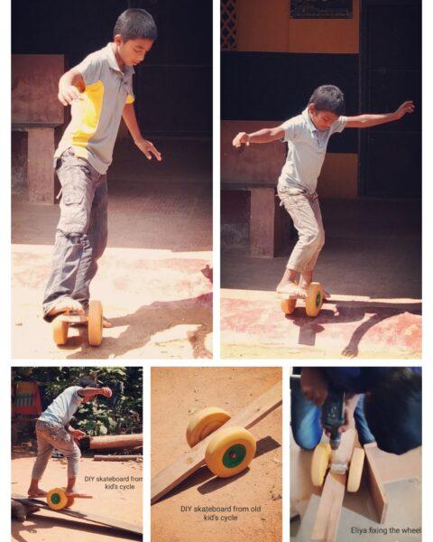 DIY Skate board